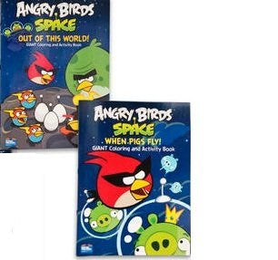 Angry Birds Space Giant Coloring and Activity Book
