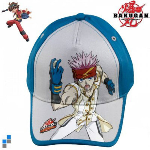 Bakugan Blue Caps 100% Cotton