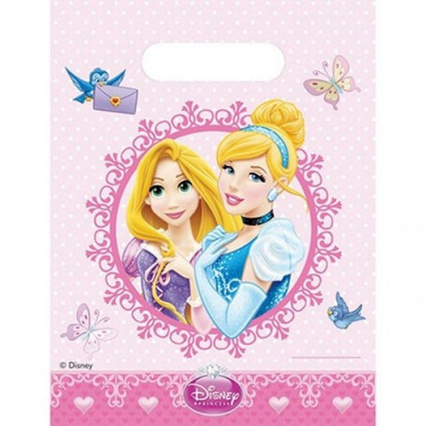 Princess Glamour Party Bags  6ct