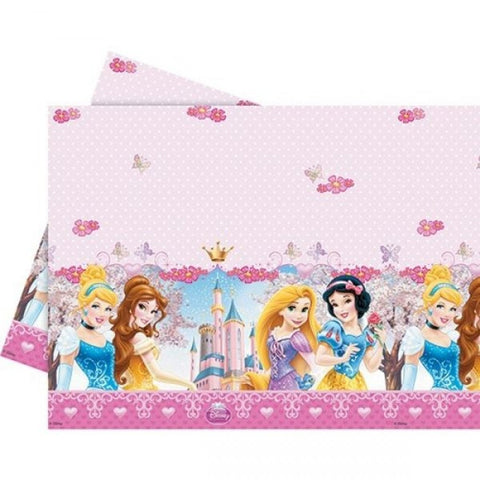 Princess Glamour Plastic Tablecloth