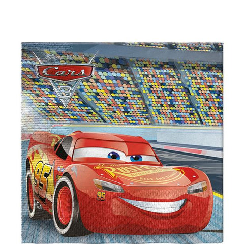 Disney Cars 3 Party Serviettes 20ct