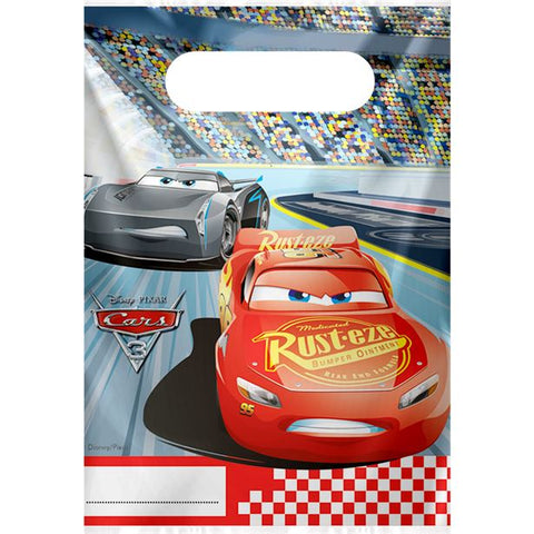 Disney Cars 3 Party Bags 6ct
