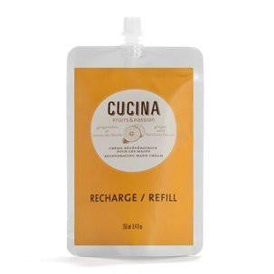 Cucina Repairing Action Hand Cream Refill - Lime Zest and Cypress
