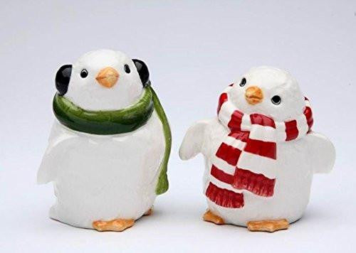 Appletree Design Penguin Couple Salt & Pepper Shakers