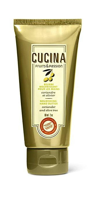 Cucina Coriander & Olive Tree Nourishing Hand Butter By Fruits & Passion, 2 oz