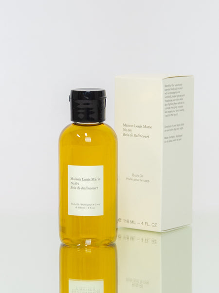 MAISON LOUIS MARIE No. 4 Bois de Balincourt Body Oil