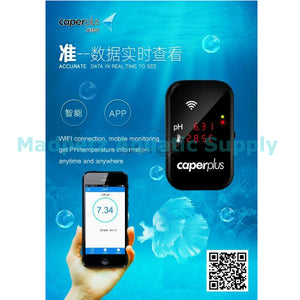 Caperplus PH and Temperature Monitor (WIFI)