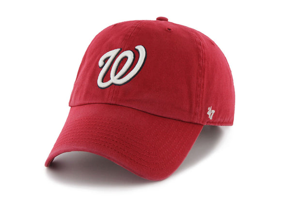 47 Brand Washington Nationals Dad Hat - Fashion Landmarks