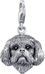Shih Tzu (trimmed male) Dog Charm