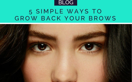 GROW BACK YOUR EYEBROWS