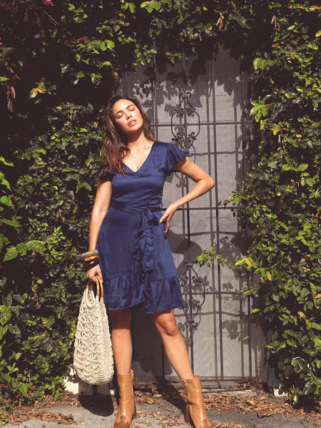 Marga Mini Dress Navy