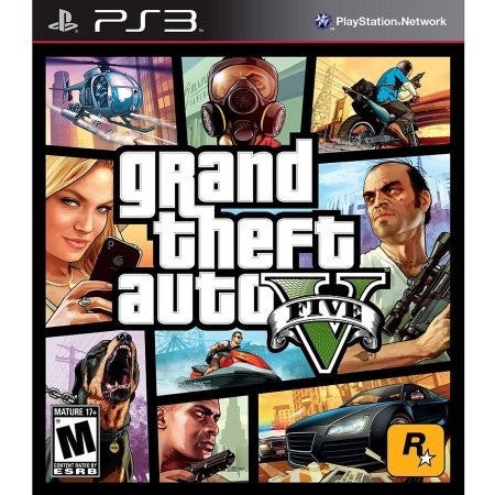 Grand Theft Auto V (PS3) - Shopatronics