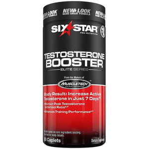 Six Star Pro Nutrition Professional Strength Testosterone Booster Dietary Supplement, 60ct - Shopatronics