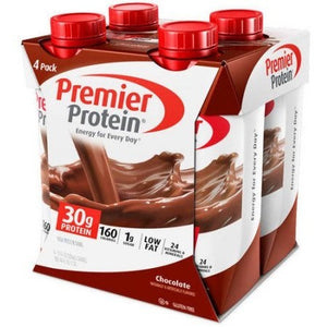 Premier Protein Chocolate High Protein Shake, 11 fl oz, 4 count - Shopatronics