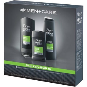 Dove Men+Care Extra Fresh Hygiene Kit, 3 ct - Shopatronics