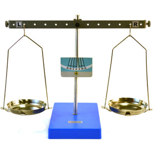 "Eisco Labs Pan Balance Scale Demonstration Lever - Low Friction Pivot, 10.6"" (27cm) Tall - Shopatronics"