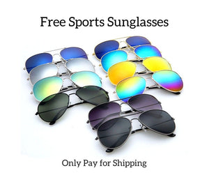 Free Fashion-Sports Sunglasses for Men/Women - Shopatronics