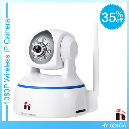 HD 1080P IP Camera wifi camera surveillance camera sd 64GB camara Wireless p2p IP camara PTZ Wifi Security Cam - Shopatronics