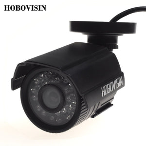 HOBOVISIN Security camera  800TVL/1000TVL IR-Cut Filter 24 IR Day/Night Vision  Outdoor Waterproof  Surveillance  CCTV Camera - Shopatronics