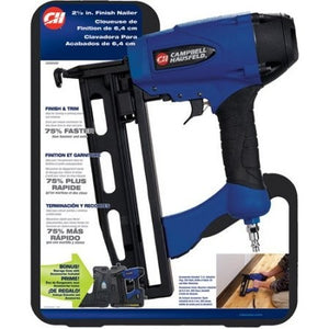 "Campbell Hausfeld 16 Gauge 2-1/2"" Finish Nailer - Shopatronics - One Stop Shop. Find the Best Selling Products Online Today"