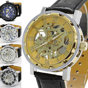 FREE Shipping Skeleton Mechanical Sport Wristwatch - Shopatronics
