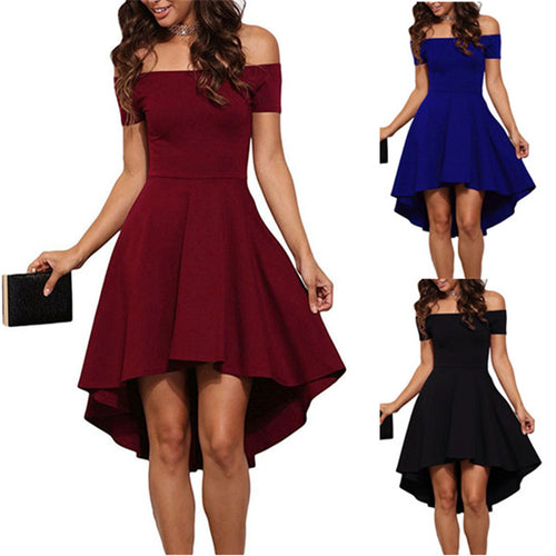 2017 Summer Dress Women Vintage Off Shoulder Party Midi Dresses - Shopatronics - One Stop Shop. Find the Best Selling Products Online Today