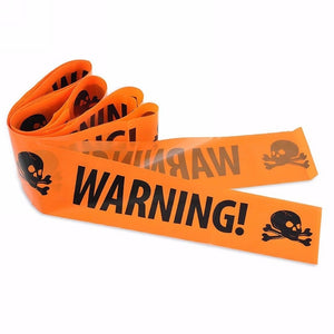 1PC Hot High Quanlity Halloween Decoration Window Prop Decoration Warning Tape Signs Plastic Skull Head - Shopatronics - One Stop Shop. Find the Best Selling Products Online Today