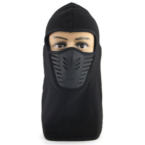 Fleece Face Mask Thermal Fleece Balaclava Hood