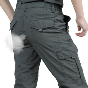 Breathable lightweight Waterproof Quick Dry Casual Pants Military Style Cargo Pants