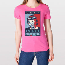 Load image into Gallery viewer, Woman's Keep America Great Tee