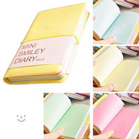 Size 75 x 125mm Mini Smiley Diary Smile Surface Notebook