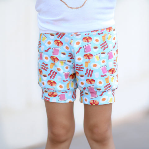 Breakfast Shorts & Bummies