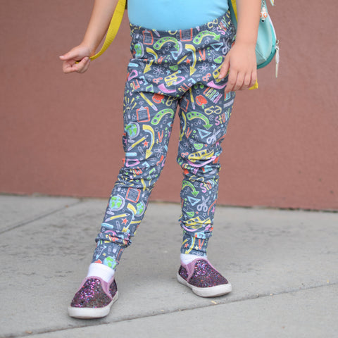 School Leggings (black)