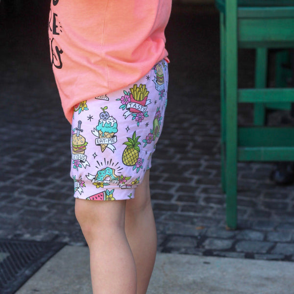 Tattoo food Shorts & Bummies