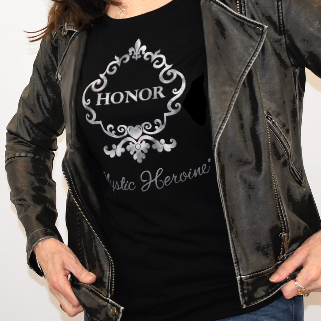 "Women's Long Sleeve ""Honor"" Tee"
