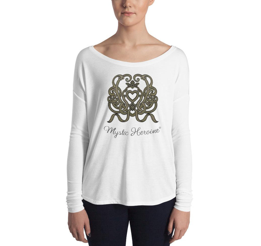 "Women's Long Sleeve ""Heart Ties"" Tee"