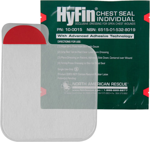 HyFin Chest Seal - NSN 6515-01-532-8019