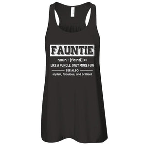 Fauntie Like A Funcle Only More Fun For Aunts T-Shirt & Tank Top | Teecentury.com