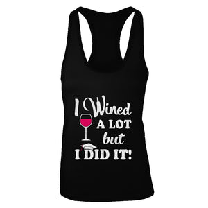 Graduation Masters Degree Gift I Did It Wine Lovers T-Shirt & Tank Top | Teecentury.com