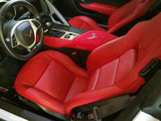 C7 Corvette Console Cover - Adrenalin Red