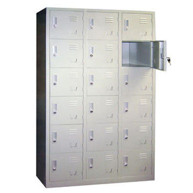 18-Compartment Locker / E-48-18