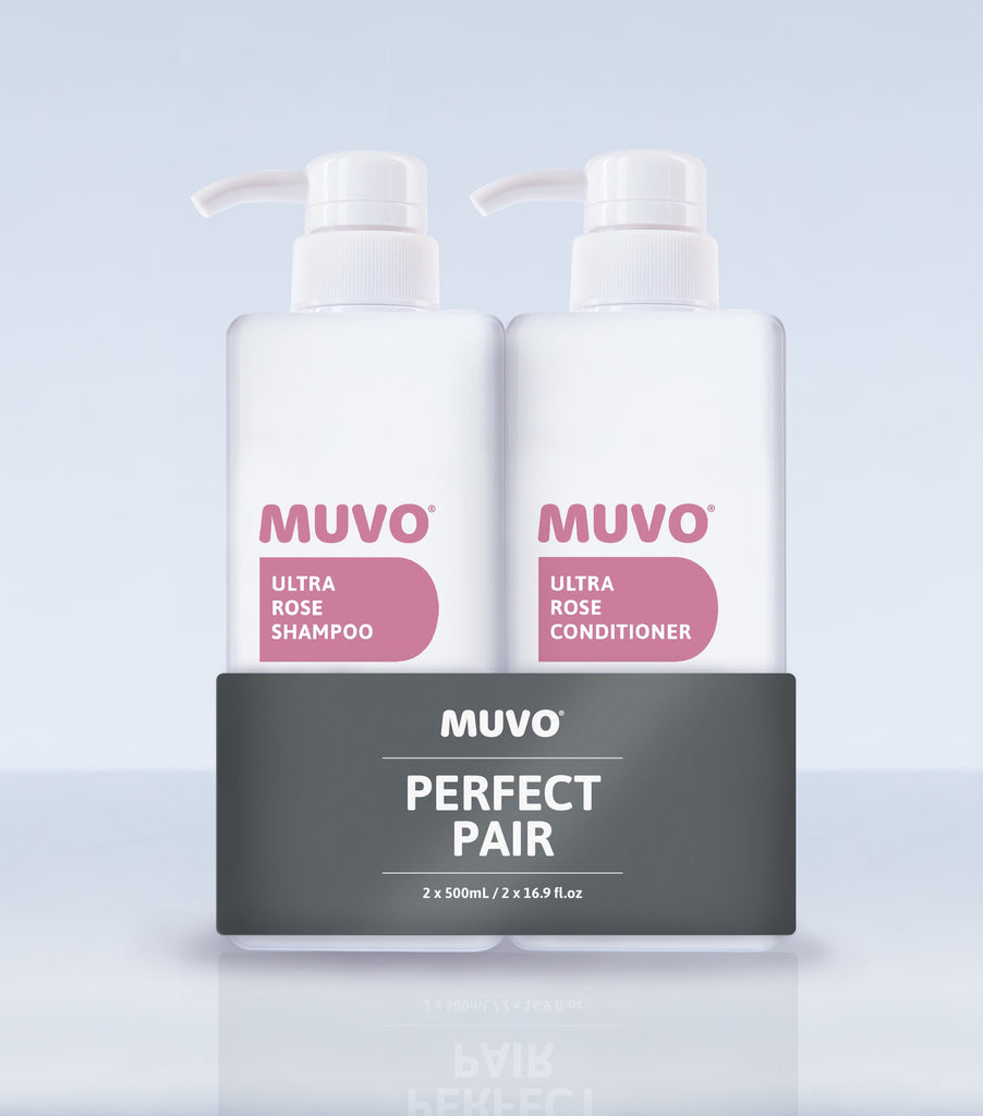 Muvo Ultra Rose Shampoo & Conditioner Pack