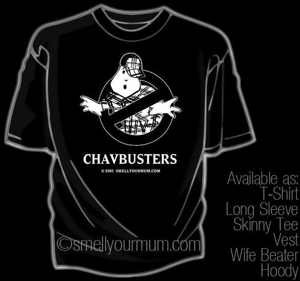 ChavBusters (Ghostbusters) | T-Shirt, Vest, Hoody