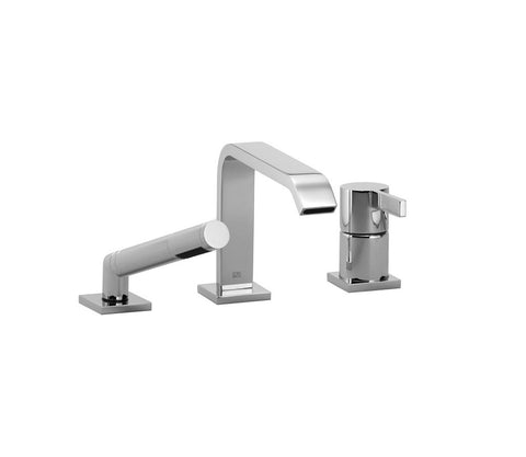 IMO Tub Filler With Baton - 3 Hole