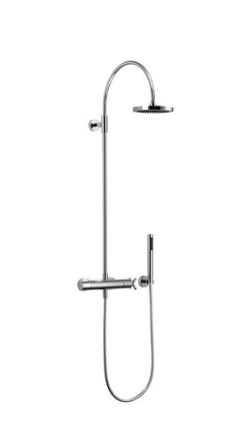 Tara. Exposed Shower Set with head and hand held
