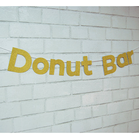 """Donut Bar"" Banner on Pinterest"