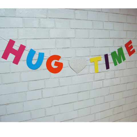 """Hug Time"" Trolls Inspired Banner"
