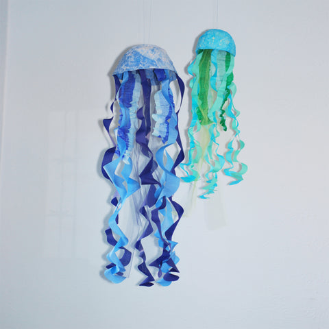 Hanging Jellyfish Decoration