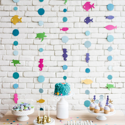 Mermaid Party Garland