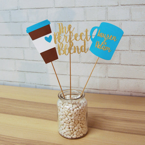 """The Perfect Blend"" Engagement Centerpiece"